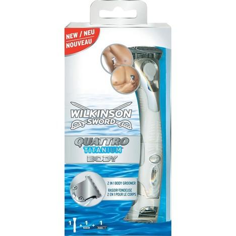 Wilkinson Quattro Titanium Body holicí strojek