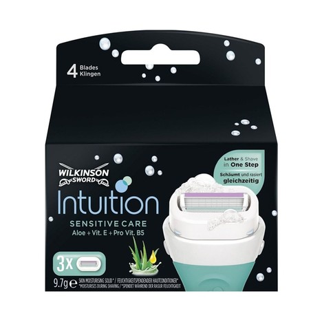 Wilkinson Intuition Sensitive Care náhradní hlavice 3 ks