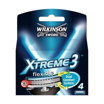 Wilkinson Xtreme3 System náhradní hlavice 4 ks