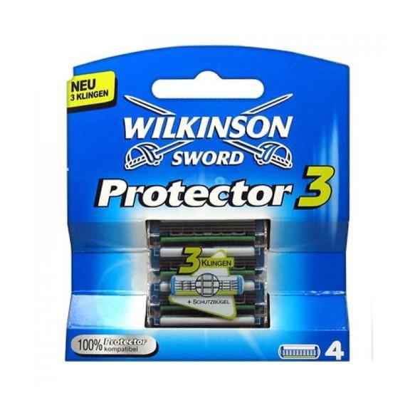 Wilkinson Protector 3 náhradní hlavice 4 ks