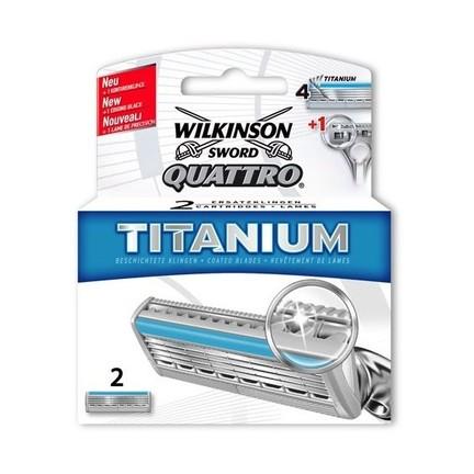 Wilkinson Quattro Titanium náhradní hlavice 2 ks