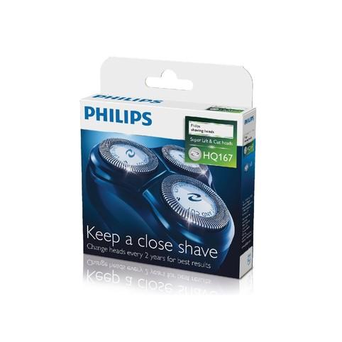Philips holicí frézky HQ167/50, 3 ks