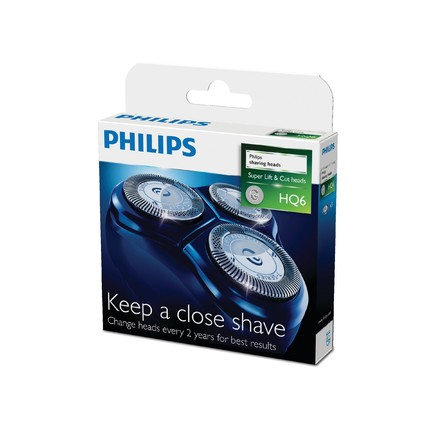 Philips holicí frézky HQ6/50, 3 ks