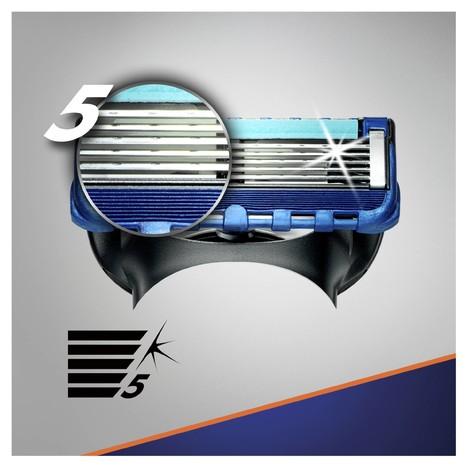 Gillette Fusion ProGlide Manual náhradní hlavice 4 ks