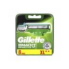 Gillette Mach3 Sensitive náhradní hlavice 8 ks