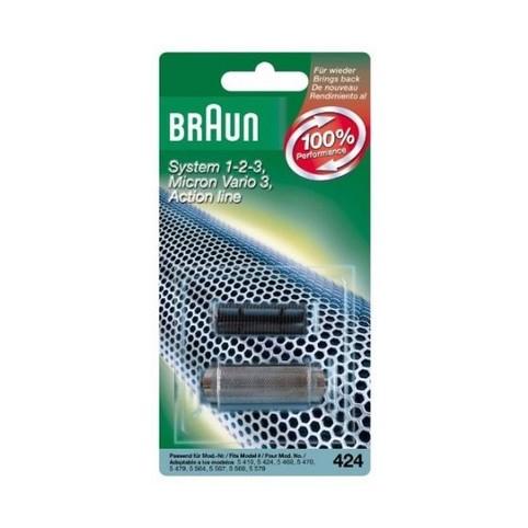 Braun CombiPack Vario3 - 424 břit + folie