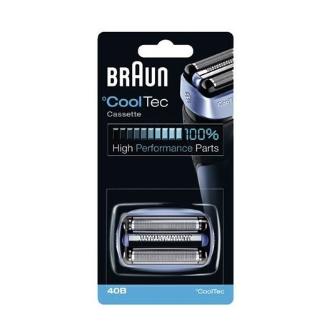 Braun CombiPack CoolTec 40B břit + folie