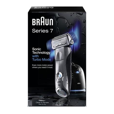 Braun Series 7 799 cc-7 Wet&Dry holicí strojek - mírně poškozený obal
