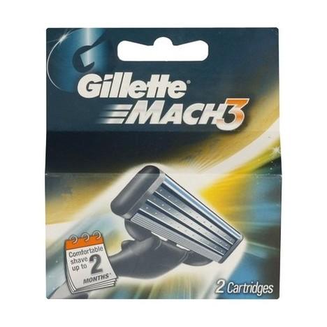 Gillette Mach3 náhradní hlavice 2 ks