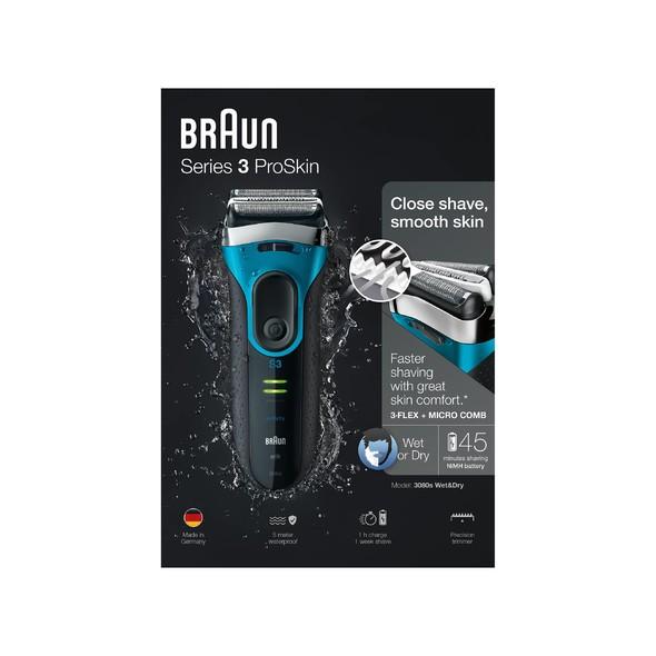 Braun Series 3-3080s Wet&Dry holicí strojek