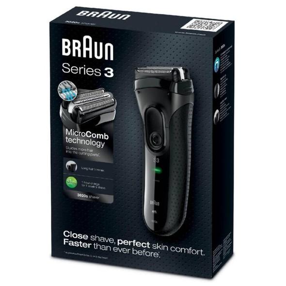 Braun Series 3-3020s holicí strojek černý