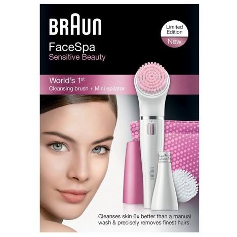 Braun FaceSpa 832s epilátor na obličej Sensitive Beauty