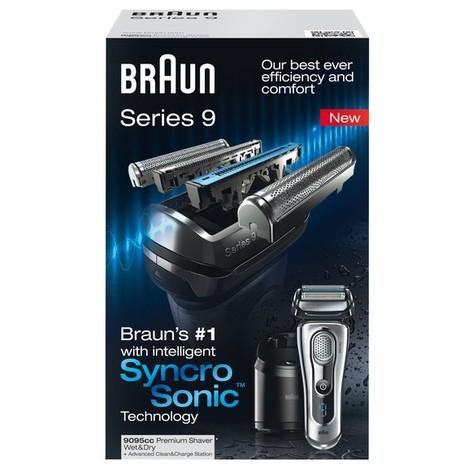 Braun Series 9 9095cc Wet&Dry holicí strojek - ROZBALENÉ