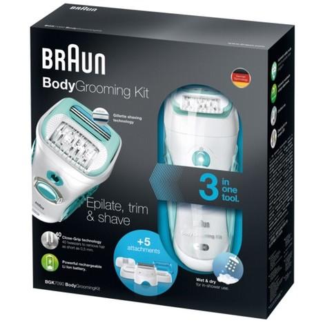 Braun BGK7090 Body Grooming Kit epilátor pro muže