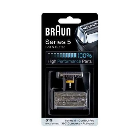 Braun CombiPack Series5 - 51S břit + folie - ROZBALENÉ