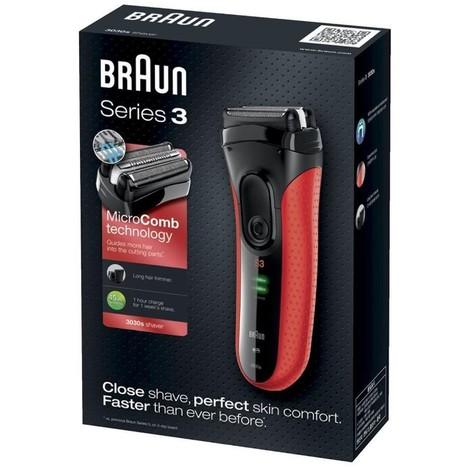 Braun Series 3-3030s holicí strojek - ZÁNOVNÍ