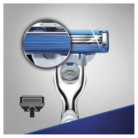 Gillette Mach 3 Turbo holicí strojek