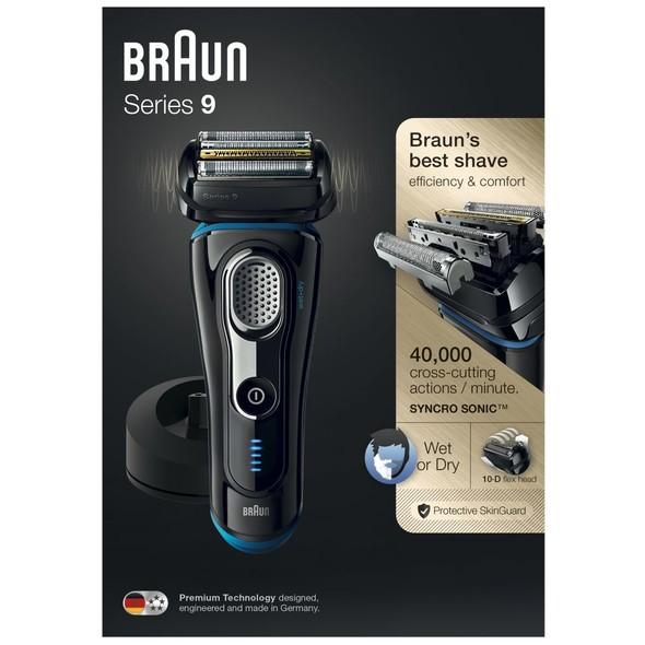 Braun Series 9 9240s Wet&Dry holicí strojek