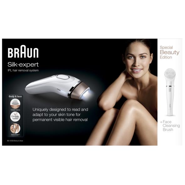 Braun BD5008 Body&Face IPL epilátor - 120 000 záblesků