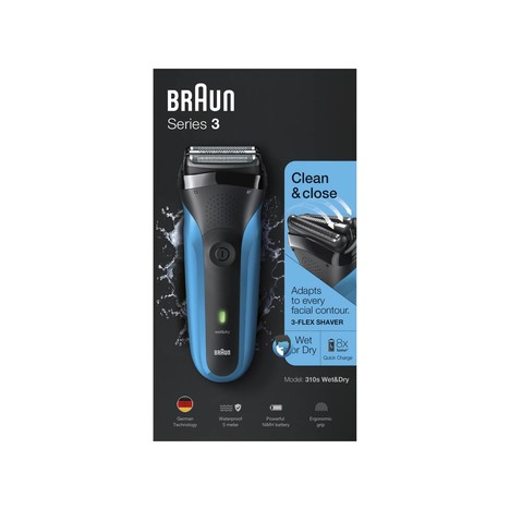 Braun Series 3 310s Wet&Dry holicí strojek