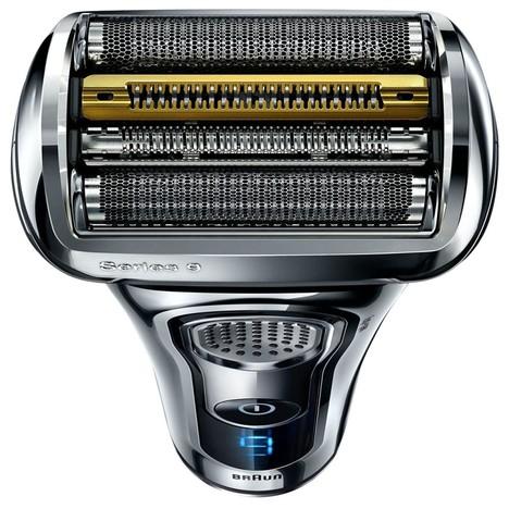 Braun Series 9 9296cc Wet&Dry holicí strojek, CHROM