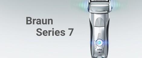 Pomůžeme Vám výběrem holicího strojku Braun Series 7