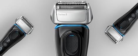 Pojďte si vybrat mezi holicími strojky Braun Series 8