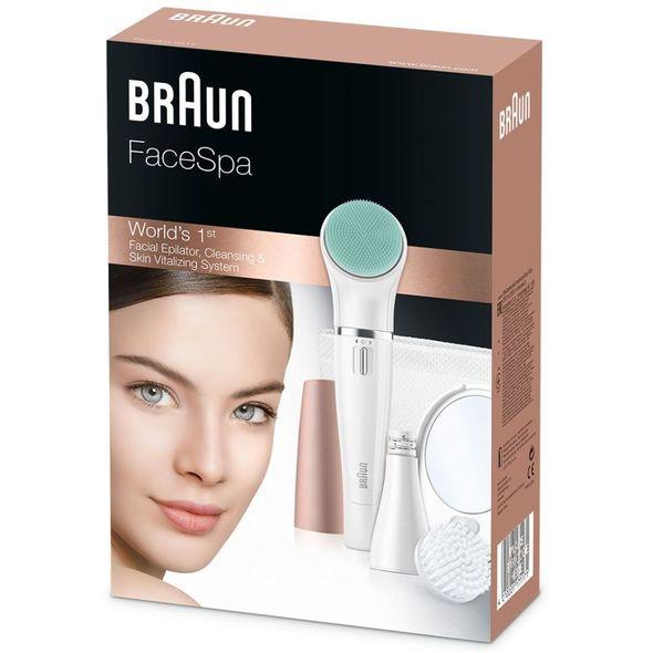 Braun FaceSpa 851V epilátor na obličej - ROZBALENÉ ZBOŽÍ