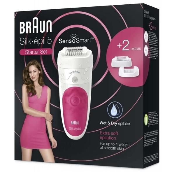 Braun Silk épil 5-500 SensoSmart Wet&Dry epilátor