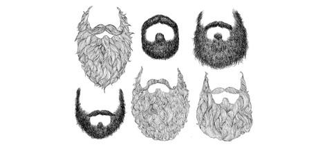 Kníry, bradky a plnovousy v proudu času