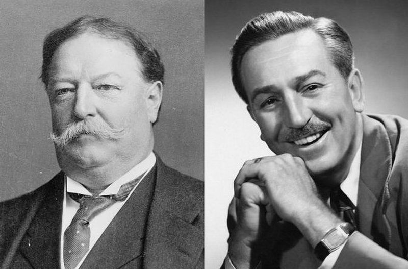 Howard Taft a Walt Disney