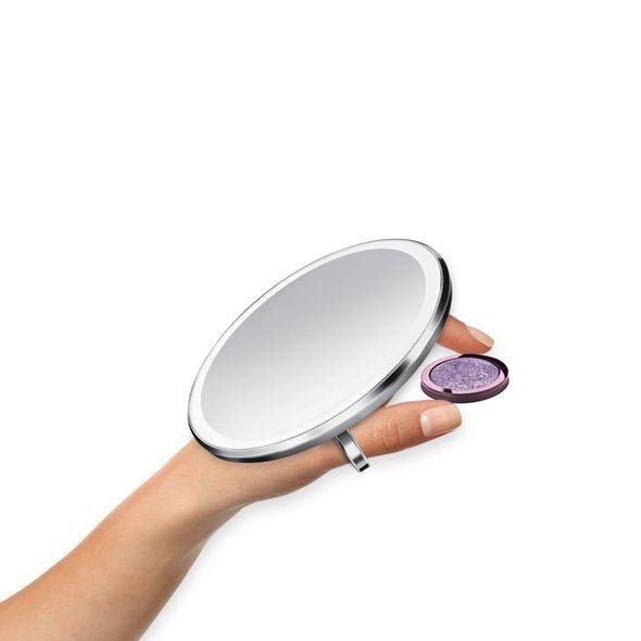 Simplehuman ST3025 kosmetické zrcadlo, STŘÍBRNÁ