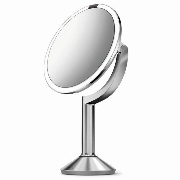 Simplehuman ST3024 kosmetické zrcadlo, STŘÍBRNÁ