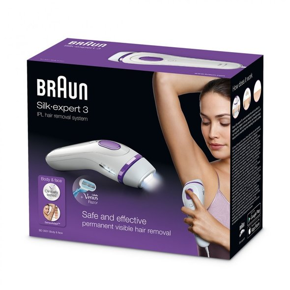 Braun Silk-expert BD3001 IPL epilátor - ROZBALENÉ