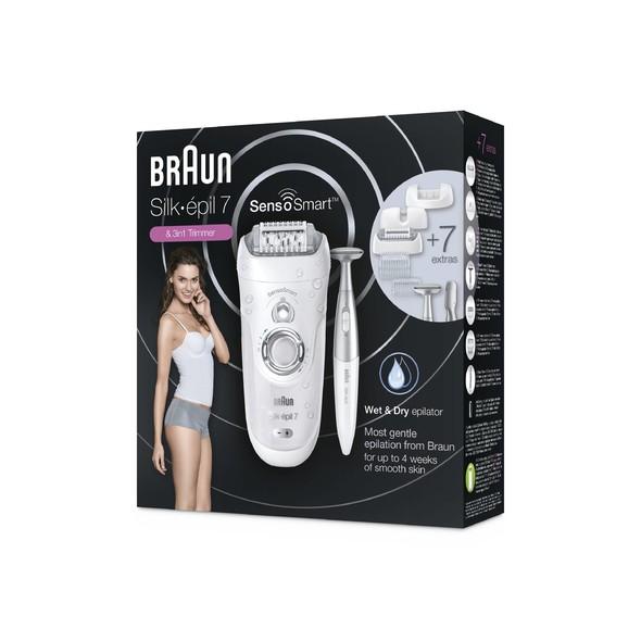 Braun Silk épil 7-890 SensoSmart Wet&Dry epilátor