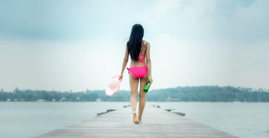 Ženská pokožka a opalování