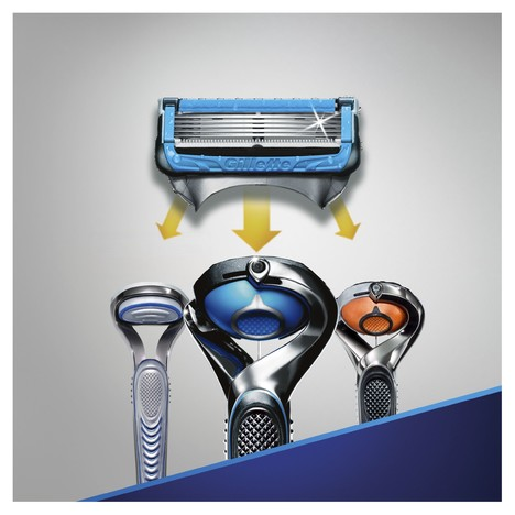 Gillette Fusion 5 ProShield Chill náhradní hlavice 4 ks
