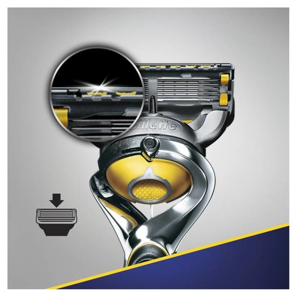 Gillette Fusion 5 ProShield FlexBall holicí strojek + 4 hlavice