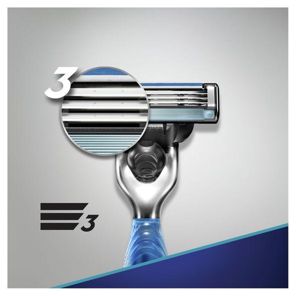 Gillette Mach 3 Start holicí strojek + 3 hlavice