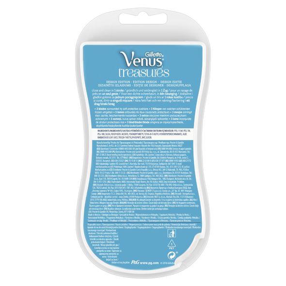 Gillette Venus Treasures dámská holítka 3 ks