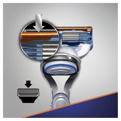 Gillette Fusion 5 Starter Pack holicí strojek + 3 hlavice