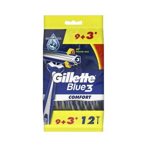 Gillette Blue 3 Comfort jednorázová holítka 12 ks