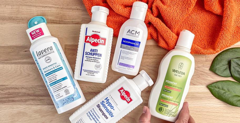 Šampony proti lupům