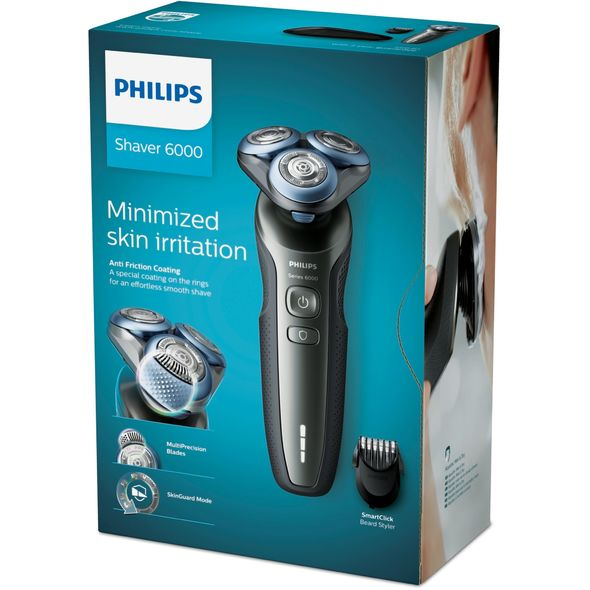 Philips Series 6000 S6640/44 Wet&Dry holicí strojek