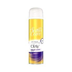 Gillette Satin Care Olay Violet Swirl gel na holení 200 ml