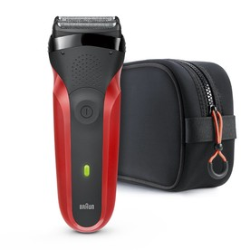Braun Series 3 300TS Red holicí strojek