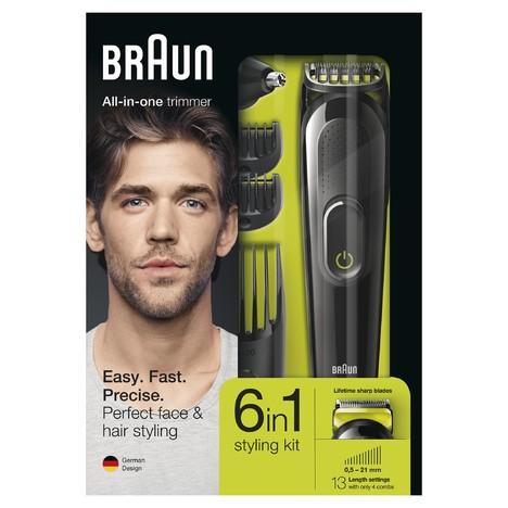 Braun All-in-one trimmer MGK3021 zastřihovač vlasů a vousů