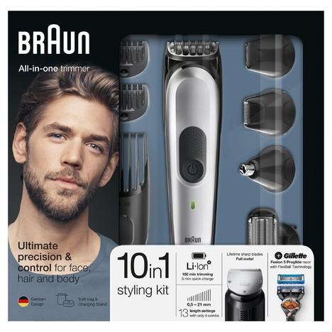 Braun All-in-one trimmer MGK7020 víceúčelový zastřihovač