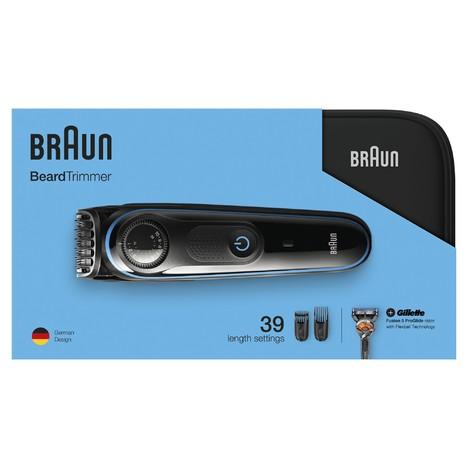 Braun Beard Trimmer BT3940TS zastřihovač vousů a vlasů
