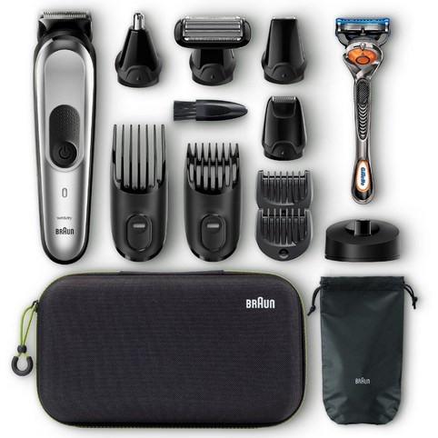 Braun All-in-one trimmer MGK7920TS víceúčelový zastřihovač
